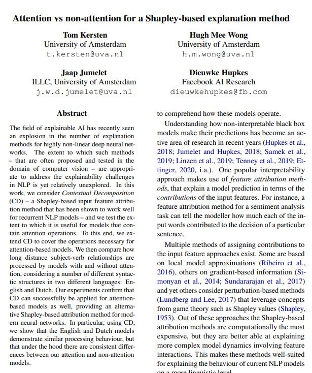 First ELLIS honours student publishes paper